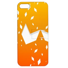 Cute Orange Copy Apple iPhone 5 Hardshell Case with Stand