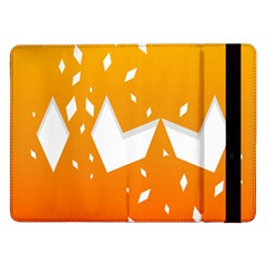 Cute Orange Copy Samsung Galaxy Tab Pro 12.2  Flip Case