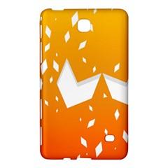 Cute Orange Copy Samsung Galaxy Tab 4 (8 ) Hardshell Case