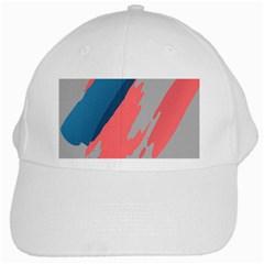 Colorful White Cap