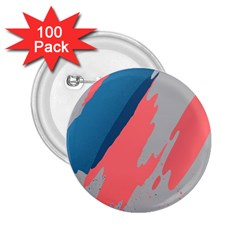 Colorful 2.25  Buttons (100 pack)