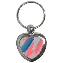 Colorful Key Chains (Heart)