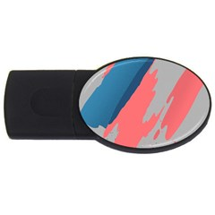 Colorful USB Flash Drive Oval (2 GB)
