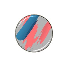 Colorful Hat Clip Ball Marker (4 pack)