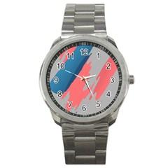 Colorful Sport Metal Watch