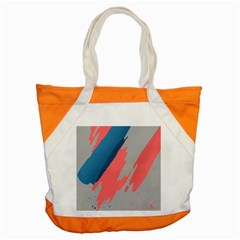 Colorful Accent Tote Bag