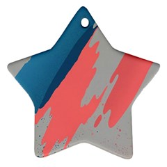 Colorful Star Ornament (Two Sides)
