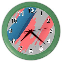 Colorful Color Wall Clocks