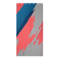 Colorful Shower Curtain 36  x 72  (Stall)