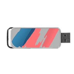 Colorful Portable USB Flash (One Side)