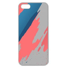 Colorful Apple Seamless iPhone 5 Case (Clear)