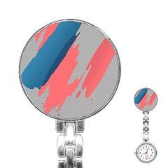 Colorful Stainless Steel Nurses Watch