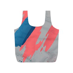 Colorful Full Print Recycle Bags (S)