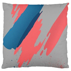 Colorful Large Flano Cushion Case (Two Sides)