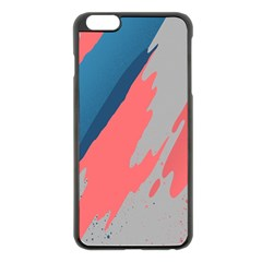 Colorful Apple iPhone 6 Plus/6S Plus Black Enamel Case
