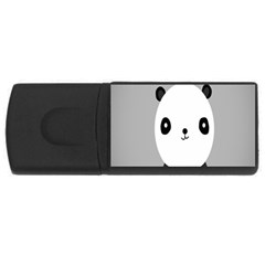 Cute Panda Animals USB Flash Drive Rectangular (1 GB)