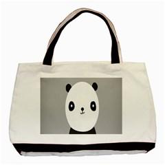 Cute Panda Animals Basic Tote Bag