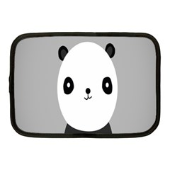 Cute Panda Animals Netbook Case (Medium)