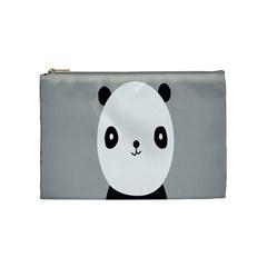 Cute Panda Animals Cosmetic Bag (Medium)