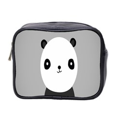 Cute Panda Animals Mini Toiletries Bag 2-Side
