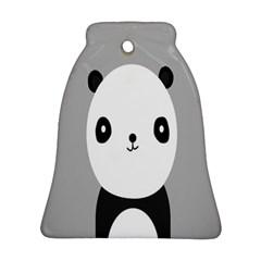 Cute Panda Animals Ornament (Bell)