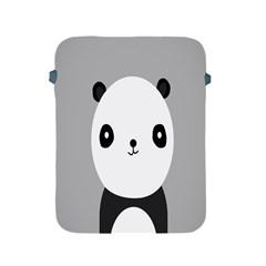 Cute Panda Animals Apple iPad 2/3/4 Protective Soft Cases
