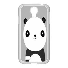 Cute Panda Animals Samsung GALAXY S4 I9500/ I9505 Case (White)