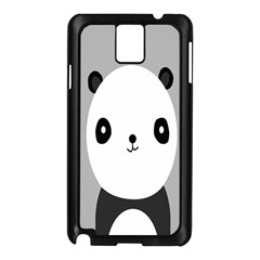 Cute Panda Animals Samsung Galaxy Note 3 N9005 Case (Black)