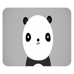Cute Panda Animals Double Sided Flano Blanket (Small)