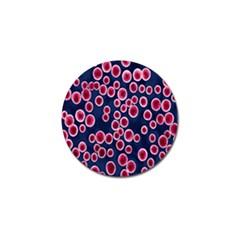 Cute Red Ball Golf Ball Marker