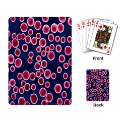 Cute Red Ball Playing Card
