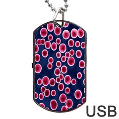 Cute Red Ball Dog Tag USB Flash (Two Sides)
