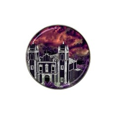 Fantasy Tropical Cityscape Aerial View Hat Clip Ball Marker (10 pack)