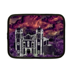 Fantasy Tropical Cityscape Aerial View Netbook Case (Small)