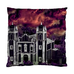 Fantasy Tropical Cityscape Aerial View Standard Cushion Case (One Side)