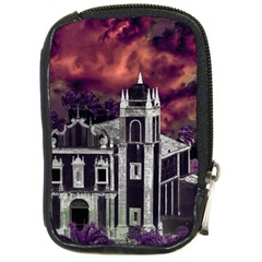 Fantasy Tropical Cityscape Aerial View Compact Camera Cases