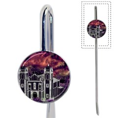Fantasy Tropical Cityscape Aerial View Book Mark