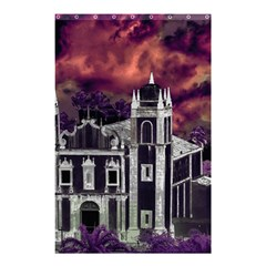 Fantasy Tropical Cityscape Aerial View Shower Curtain 48  x 72  (Small)