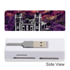 Fantasy Tropical Cityscape Aerial View Memory Card Reader (Stick)