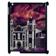 Fantasy Tropical Cityscape Aerial View Apple iPad 2 Case (Black)