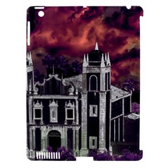 Fantasy Tropical Cityscape Aerial View Apple iPad 3/4 Hardshell Case (Compatible with Smart Cover)