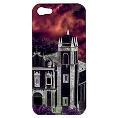 Fantasy Tropical Cityscape Aerial View Apple iPhone 5 Hardshell Case