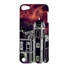 Fantasy Tropical Cityscape Aerial View Apple iPod Touch 5 Hardshell Case
