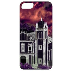 Fantasy Tropical Cityscape Aerial View Apple iPhone 5 Classic Hardshell Case