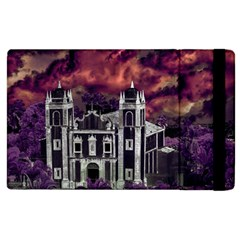 Fantasy Tropical Cityscape Aerial View Apple iPad 3/4 Flip Case