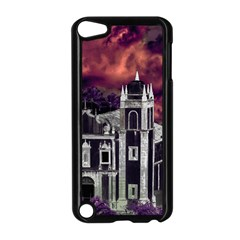 Fantasy Tropical Cityscape Aerial View Apple iPod Touch 5 Case (Black)