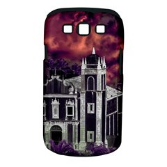 Fantasy Tropical Cityscape Aerial View Samsung Galaxy S III Classic Hardshell Case (PC+Silicone)