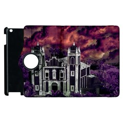 Fantasy Tropical Cityscape Aerial View Apple iPad 2 Flip 360 Case