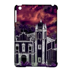 Fantasy Tropical Cityscape Aerial View Apple iPad Mini Hardshell Case (Compatible with Smart Cover)