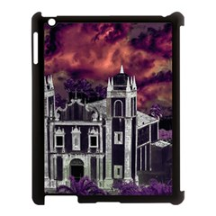 Fantasy Tropical Cityscape Aerial View Apple iPad 3/4 Case (Black)